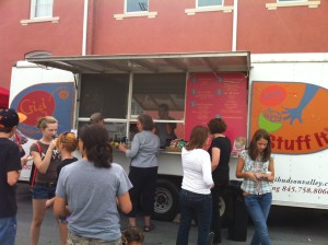 The Gigi Food Truck at the Red Hook Hardscrabble