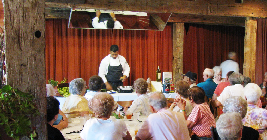 Gigi Market Cooking Demonstration