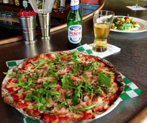 Gluten-Free Skizza at Gigi Trattoria, Rhinebeck